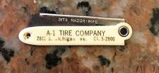 1950S A-1 Tire Company Knife 2.5 Inch Closed