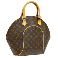 LOUIS VUITTON ELLIPSE MM HAND TOTE BAG MONOGRAM CANVAS M51126 AUTHENTIC A43803e