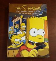 The Simpsons - The Complete Tenth Season Collector's Edition (4-DVD) Very Good
