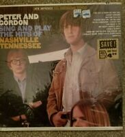 "LP- PETER AND GORDON- ""SING & PLAY THE HITS OF NASHVILLE TENN""- CAPITOL- N.MINT"
