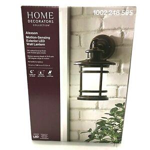 Home Decorators Collection LED Exterior Lantern, Alexson Motion Sensing Lantern
