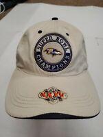 NWOT Baltimore Ravens XXXV Super Bowl Champions Adjustable Hat Cap New