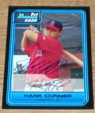 Rays Hank Conger RC Autographed Card