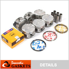 93-02 Mazda 626 MX6 Millenia Ford Probe 2.5L DOHC Pistons and Rings Set KL