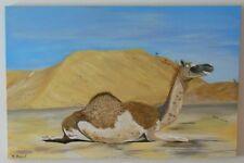 """Camel"" Acryl Bild der Künstlerin Hilde Ament Art Painting"