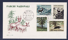 Ea/ Italie   enveloppe  parc national  animaux ours cerf  1967