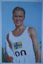 Olympia 1936 Berlin Erik Ny Schweden Läufer # 5/5