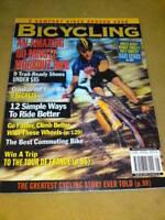 BICYCLING MAGAZINE - WORKOUT RIDE May 1999