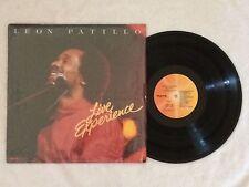 "Leon Patillo ""Live Experience"" LP 1983 gospel modern soul - vinyl VG, cover EX"