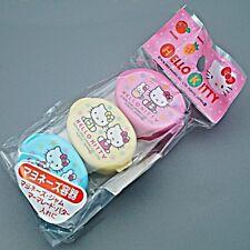 Hello Kitty 3x Condiments Mayonnaise Ketchup Sauce Cases Japan K10 O01