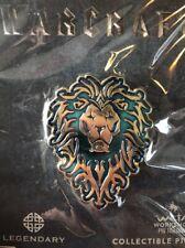 World of Warcraft Alliance Icon Collectible Pin -Blizzard Gear/WETA Workshop/WoW
