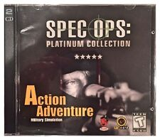 Spec Ops Platinum Collection Pc Brand New XP