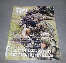 LIVRE ARMEE 2014 TIM TERRE INFORMATION MAGAZINE LA PREPARATION OPERATIONNELLE