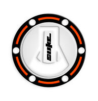 FUEL CAP PROTEZIONE TAPPO BENZINA KTM DUKE 690 2012-2017 GP-449 (White Orange)