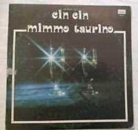 MIMMO TAURINO LP CIN CIN 33 GIRI CANZONI NAPOLI ITALY MEA SUD MLP 539 NM/EX