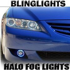 Halo Fog Lamp Blue Angel Eye Driving Lights 2003 2004 2005 2006 2007 2008 Mazda6