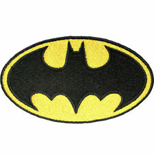 "DC Comics Batman Logo Embroidered Sew/Iron-on Patch 3.75"" x 2.2"" Robin Joker"