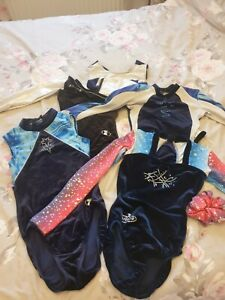 5 Gymnastic Leotards