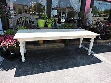 Farmhouse Tuscan Cottage Handcrafted Table 6 ft 7 ft 8ft            6 ft  is 825
