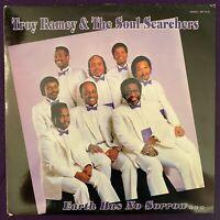 TROY RAMEY & THE SOUL SEARCHERS Earth Has No Sorrow LP AIR Gospel Soul Blues NM-