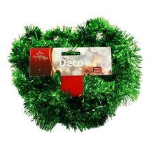 HAAC Girlande Tanne Lametten Länge 5 Meter Farbe grün für Weihnacht Weihnachten