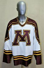 Jersey Hockey Vintage Michigan University Koronis Sports Apparel  XL made in USA