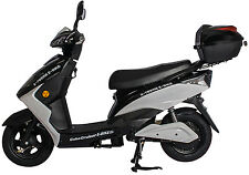 X-Treme Cabo Cruiser Electric E Bike Moped 20 Amp Battery System Black New