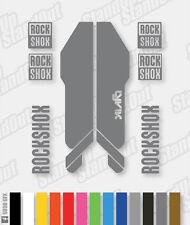 RockShox Lyrik 2013 style stickers / autocollants - 12 + couleurs personnalisées