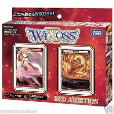 TAKARA TOMY WIXOSS WXD-02 DECK RED AMBITION 48 TCG CARDS WX80880