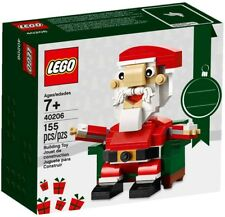 2016 LEGO BRICK BUILT FIGURE SEASONAL CHRISTMAS SANTA 40206, NEW & SEALED