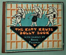 THE KATY KRUSE DOLLY BOOK 1927 First Edn vintage antique book 20s dolls Kathe