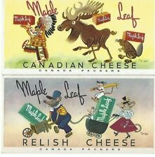 Canada Packers Canadian Cheese New old Stock Ink Blotters