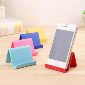 Universal Mini Mobile Phone Support Tablet PC Desk Stand Holder Cellphone Mount