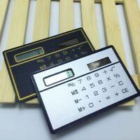 Powered Ultra-thin Counter Card Calculator Function Calculator Mini Counter