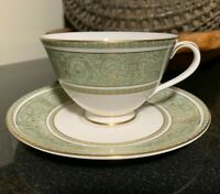 "Royal Doulton English Renaissance 2 5/8"" Footed Cup & Saucer England 5 Available"