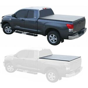 TruXedo 273901 TruXport Roll Up Bed Cover for 14-21 Toyota Tundra 5.5' Deck Rail