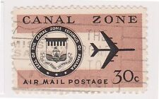 (CZ-80) 1965 Canal Zone 30c air Mail (O)