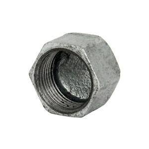Tappo filettato femmina 3/4 acciaio zincato (pz 10)