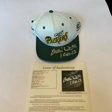Rare Reggie White Signed Green Bay Packers Leather NFL Hat Cap With JSA COA