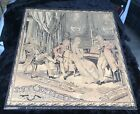 Late 19th/Early 20th Century Framed French Woven Tapestry - Tight Weave