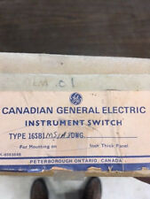 Canadian General Electric SWITCH-INSTRUMENT  16SB1MS1A8