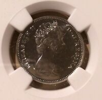 1967 Canada 5 Cents NGC PL 66 - Showshoe Rabbit - Only 4 in Higher Grades