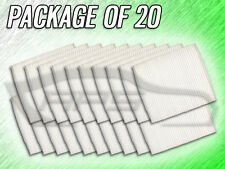 C25870 CABIN AIR FILTER FOR TOWN & COUNTRY CARAVAN G37 M35 M45 - PACKAGE OF 20