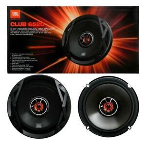 "JBL CLUB 6520 - 6.5"" 16.5cm 2-Way Coaxial Car Speakers 150 Watts Car Audio Sound"
