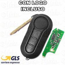 Chiave Completa Chip elettronica compatibile FIAT 500 X L PUNTO EVO PANDA LANCIA