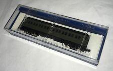 Bachmann N Scale SANTA FE 65' Standard Passenger COACH Green w/ Box #5633 MINTY