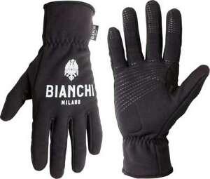 Bianchi Milano OSIO Radsport-Winterhandschuhe schwarz
