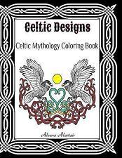 Celtic Designs : Celtic Mythology Coloring Book, Paperback by Alastair, Aleen.