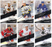 2017-18 Upper Deck MVP Hockey - Silver Script Cards - Choose From Card #'s 1-200