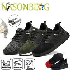 Sicherheitsschuhe Herren Arbeitsschuhe S3 Leicht Schutzschuhe Stahlkappe Sneaker